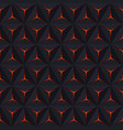 abstract dark seamless pattern geometric vector image