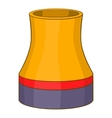 Cooling tower icon cartoon style vector image vector image