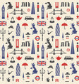 england london uk seamless background vector image vector image