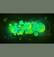 liquid space background design trendy color vector image