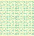 pattern burger yellow background-line vector image