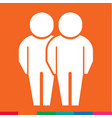 people icon design vector image