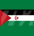 western sahara flag vector image