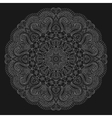 Abstrack floral circular mandala vector image vector image