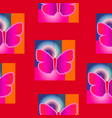 abstract seamless texture of a butterfly vector image vector image