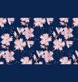 asia luxury sakura flower seamless pattern vector image vector image
