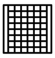 cage animal trap icon outline style