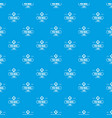 delivery mail pattern seamless blue vector image vector image