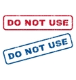 Do Not Use Rubber Stamps vector image vector image