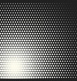 monochrome circles halftone background vector image