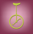 retro bicycle icon vector image
