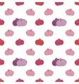 seamless pomegranates pattern vector image