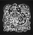 steampunk style drawing vector image vector image