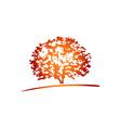 Treetop-380x400 vector image vector image