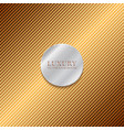 abstract shiny golden mosaic background and vector image