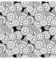 damask seamless abstract pattern vector image vector image