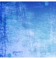 Texture Scratched Frost Vignetted vector image vector image