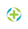 alternative medicine healthy vector image vector image
