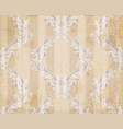 classic ornament decor background texture vector image