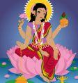 lakshmi vector image