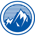 Mountain range logo vector