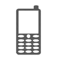 Phone sign on white vector image vector image