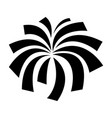 exploding fireworks logo icon vector image vector image