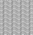 Flat gray with horizontal wave texture vector image vector image