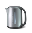 kettle kitchen appliance electronic house hold vector image