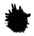 kuala lumpur planet vector image