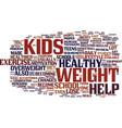 loss school teen weight text background word vector image vector image
