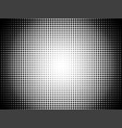 radial halftone pattern gradient background vector image