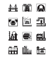 various types construction vector image vector image