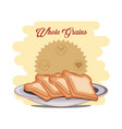 whole grains healthy product vector image vector image