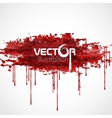 Bloody Watercolor Spots vector image