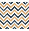 blue and beige chevron retro decorative pattern vector image