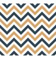 blue and beige chevron retro decorative pattern vector image vector image
