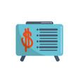 board presentation report money business financial vector image vector image