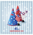 Congratulatory background to the day of vector image
