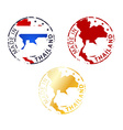made in Thailand stamp vector image vector image
