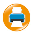 Printer office design vector image vector image