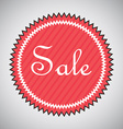 sale design vector image vector image