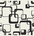 tangled squares with rounded edges vector image
