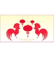 Chinese New Year 2017 Spring Festival vector image vector image