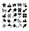 Construction Icons 10 vector image vector image