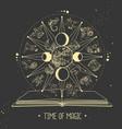 modern magic witchcraft astrology wheel