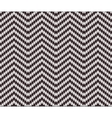 Seamless Knitting Zigzag Pattern vector image vector image