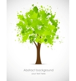 Abstract grunge tree vector image vector image