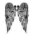 abstract wings vector image vector image