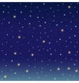 Background simulating the winter night sky vector image vector image